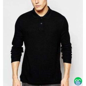 Polo T-Shirt with Security Wording